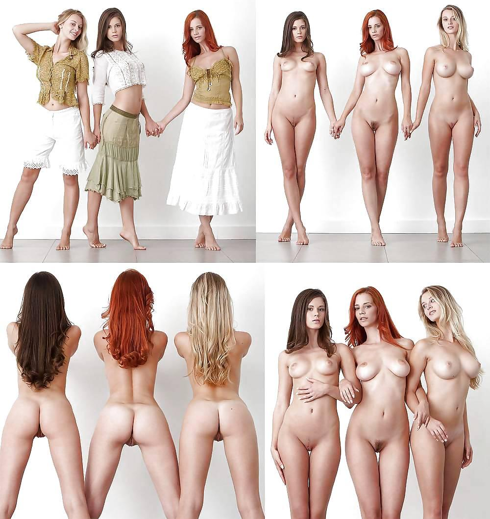 Vestidas O Desnudas