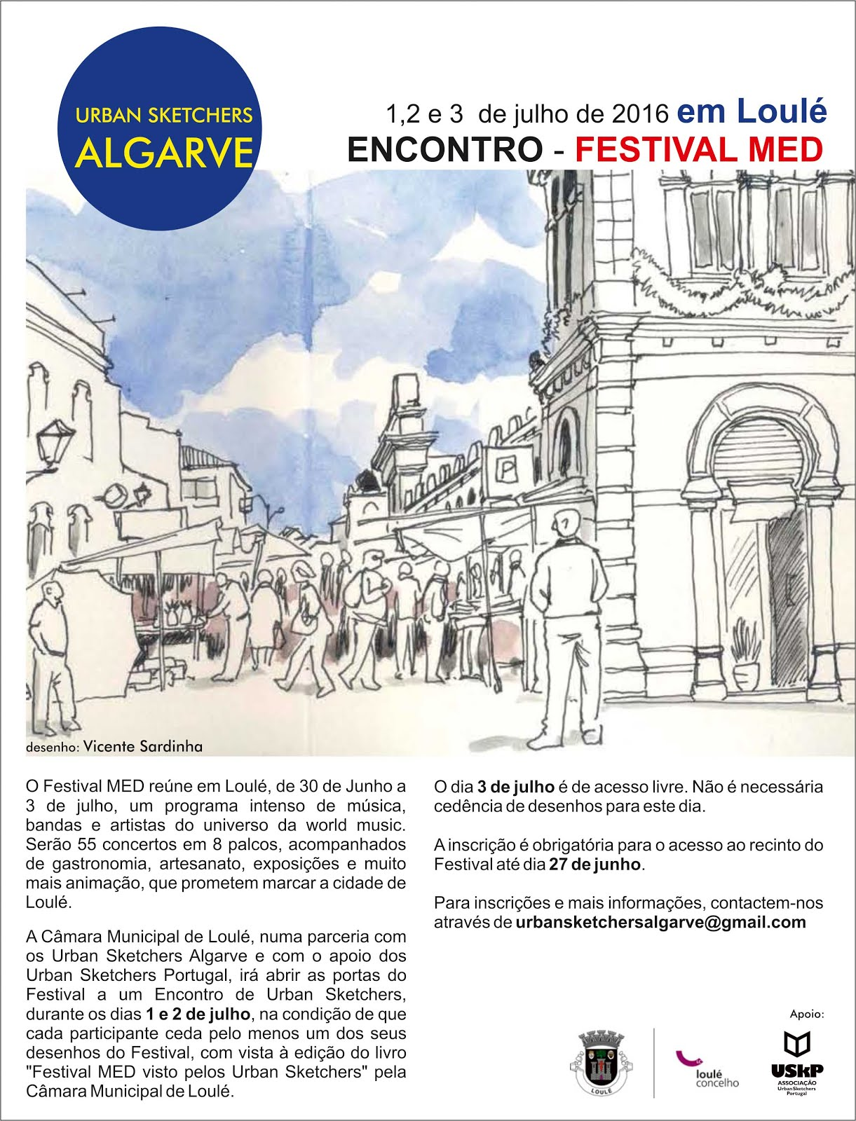 Encontro Festival MED - Loulé