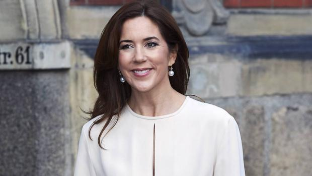 Crown Princess Mary of Denmark attend the award ceremony of the CSR Priser for social responsible entrepreneurship at the Exchange building in Copenhagen, Denmark
