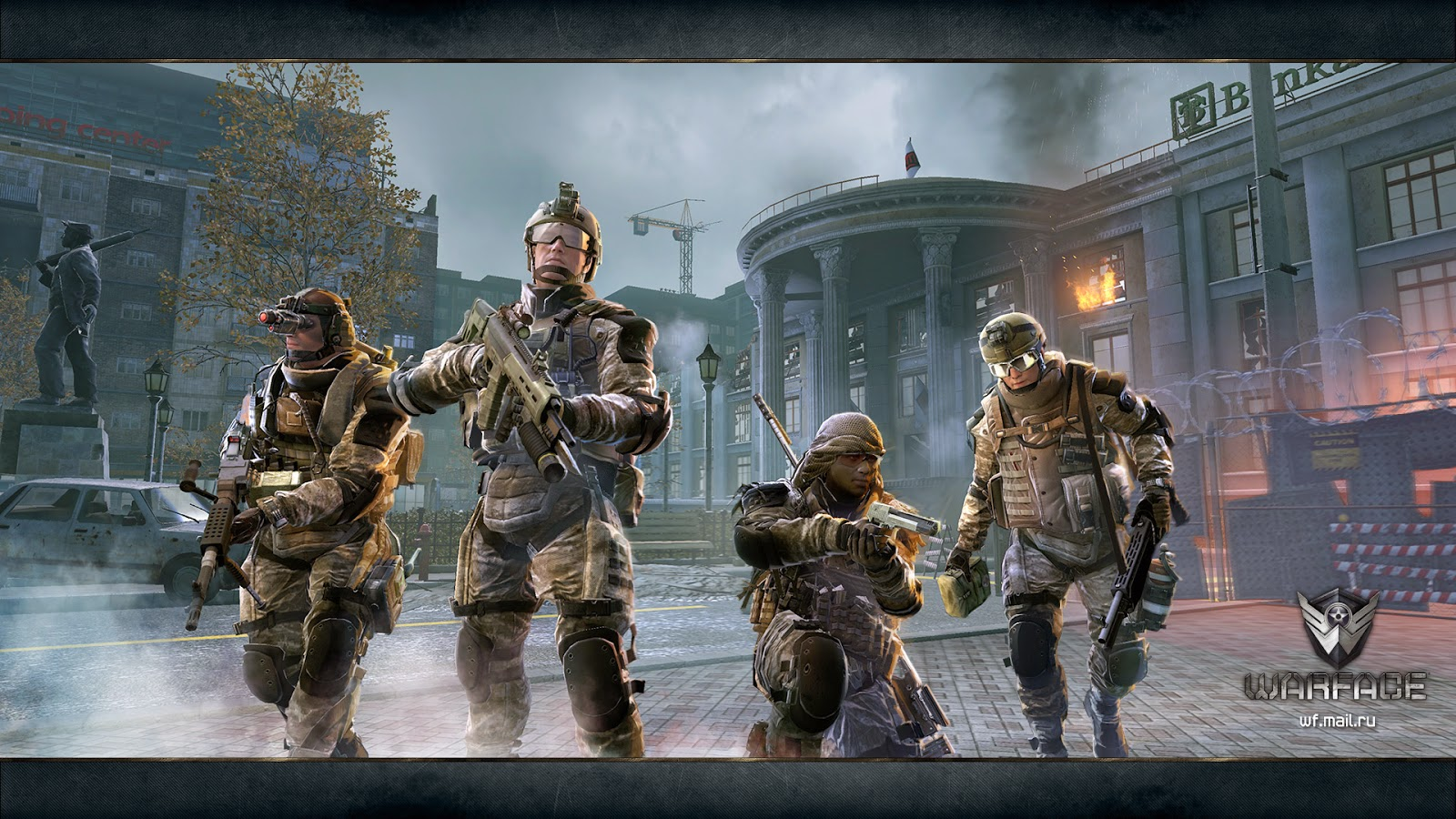 Ya puedes jugar a Warface de Crytek en Steam