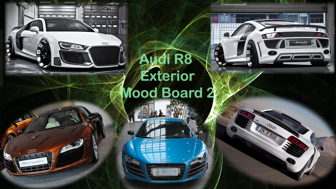 Audi R8 Mood Boards A Quot Good Quot Day
