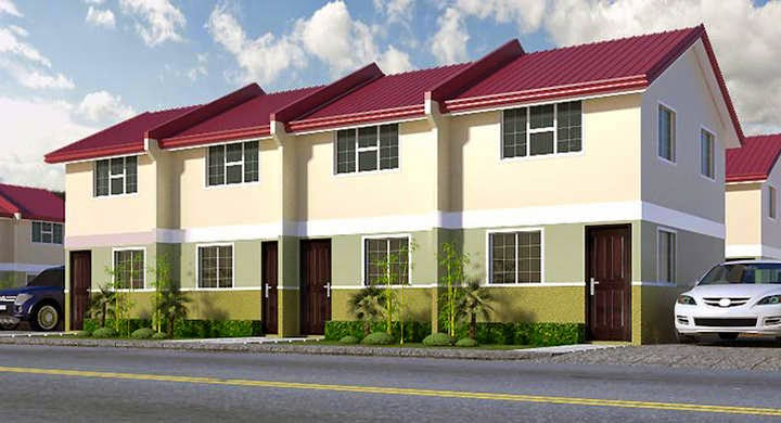 Low cost housing in the philippines north fairway homes for Fairway house