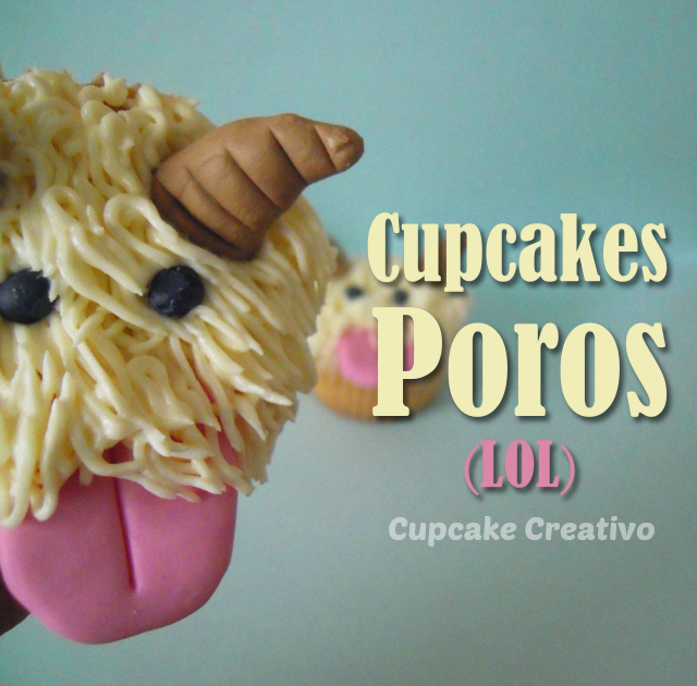 Tutorial Cupcakes Decorados Poros (LOL, League of Legends)