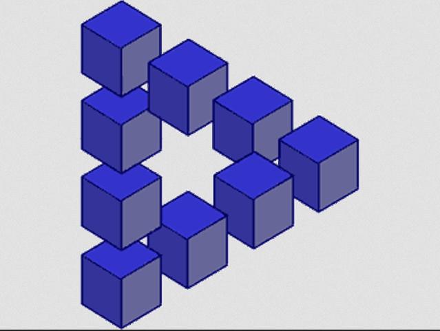 Paradox Optical Illusions Genius Puzzles