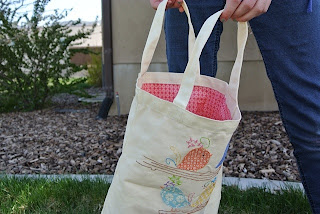 meags and me Quiltmaker 100 blocks Tote Bag Lined