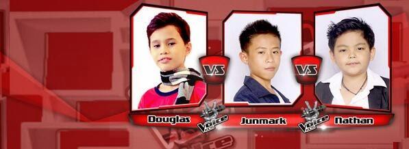 Douglas vs Junmark vs Nathan Team Bamboo Battles on 'The Voice Kids' Philippines