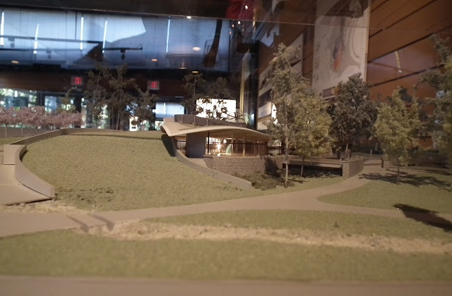 The maquette of the new Visitor Centre of VanDusen Botanical Garden- Capital Project