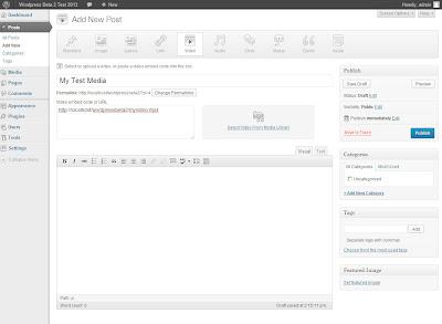 WordPress 3.6 - Audio And Video