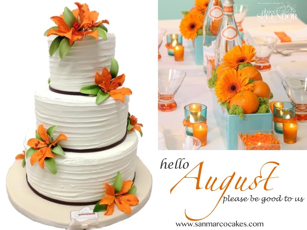 Orange Blossom Cake   Summer Wedding   Montreal Wedding Cakes
