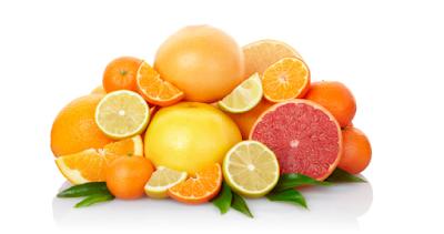 na casca dos citrinos