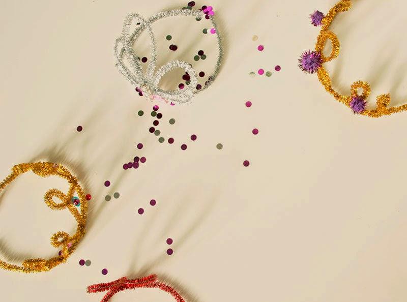 DIY Cómo elaborar coronas de Reyes Magos