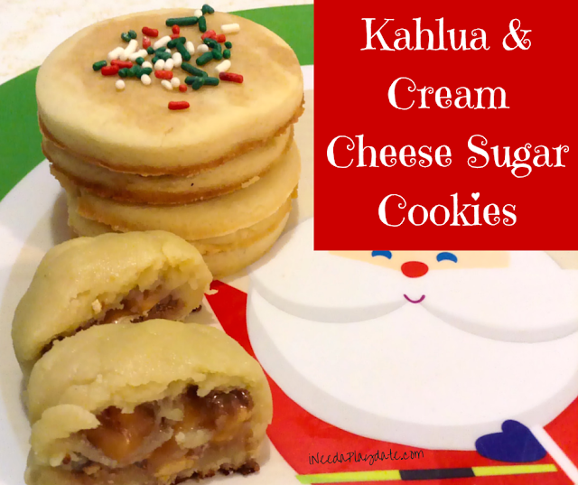 Kahlua and Cream Cheese Sugar Cookie Recipe