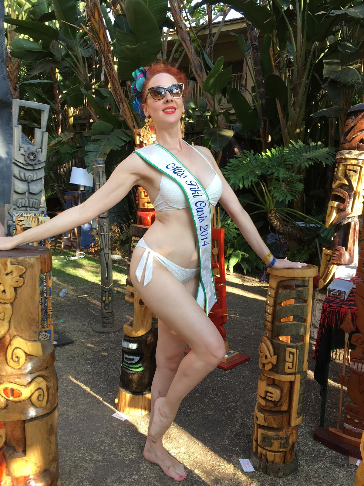 Miss Tiki Oasis 2014.