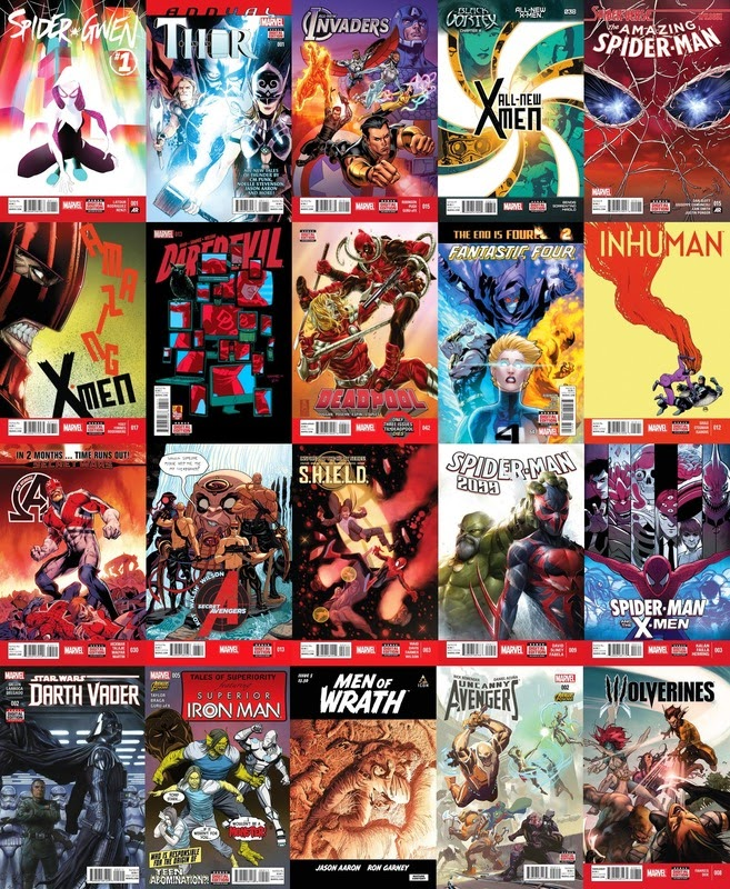 Marvel NOW+ (02-25-2015)