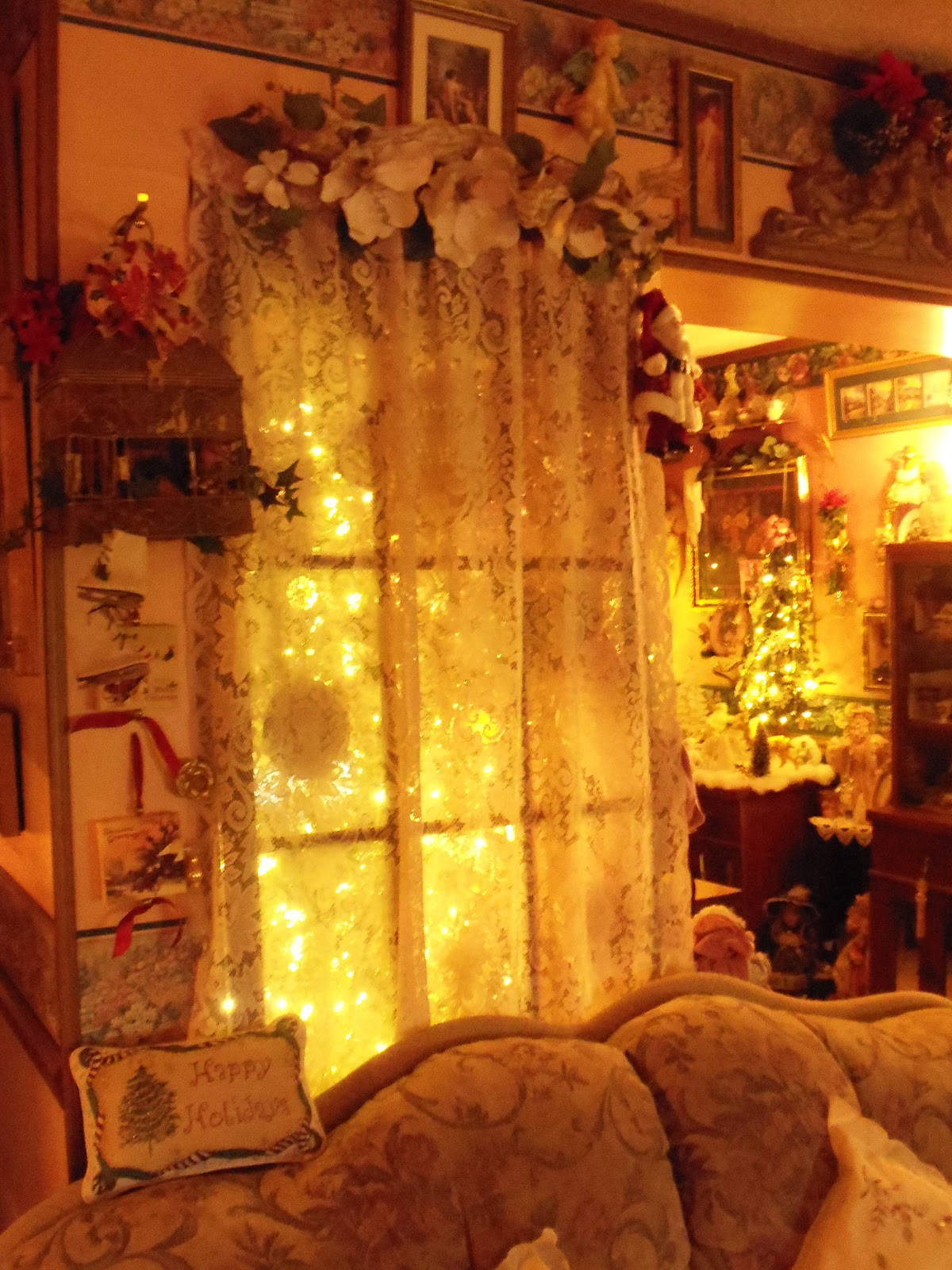 A Debbie Dabble Christmas Christmas Home Tour 2012 Part