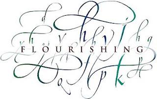 flourrishing süslü yazılar