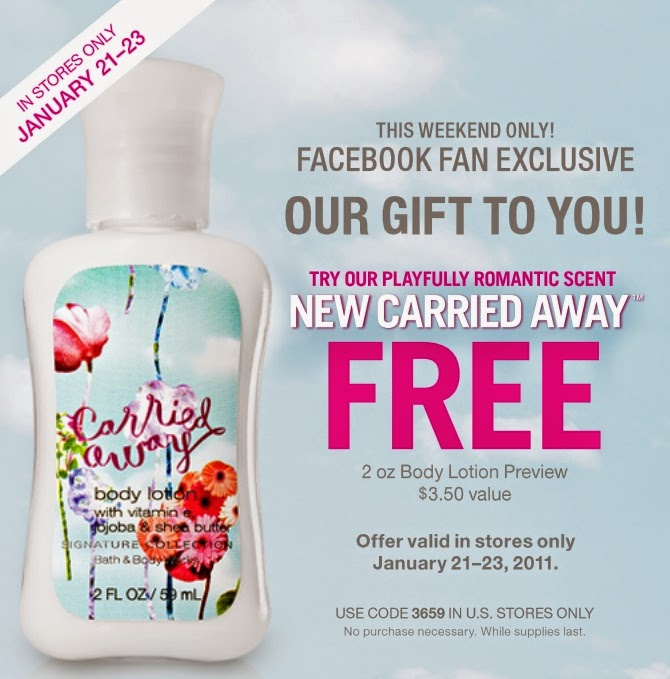 This is a picture of Unusual Bath and Body Printable Coupons in Store