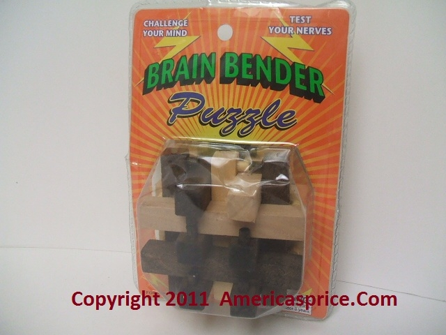Brain Benders Wooden Puzzles6
