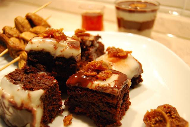 dolcetti ai fichi cilentani con cioccolato e glassa al ruhm