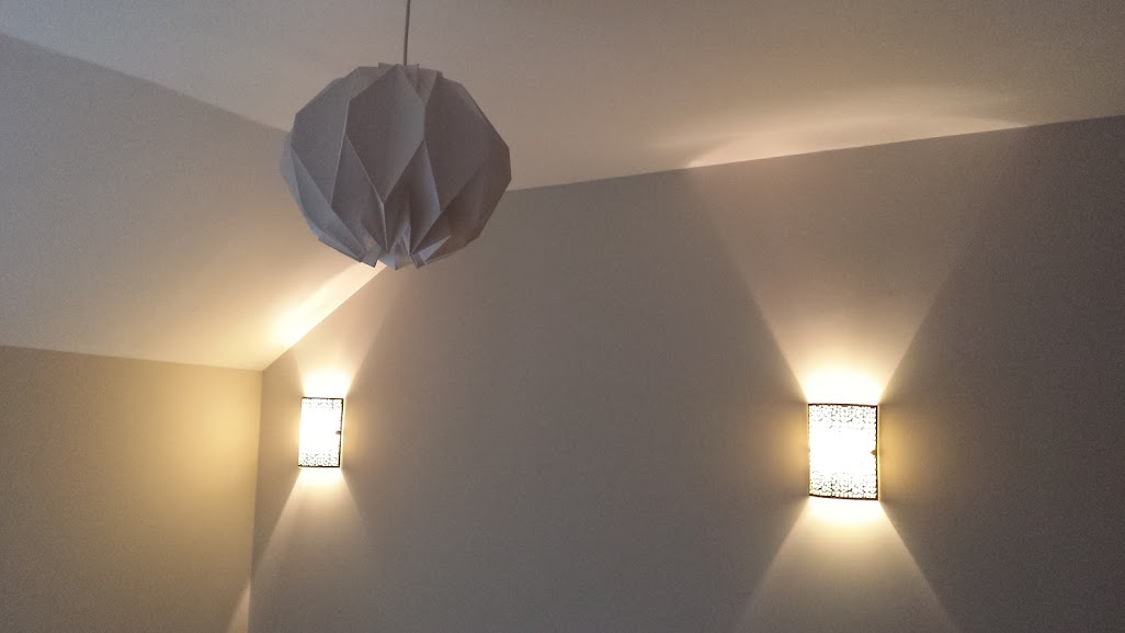 Funky lamp shade