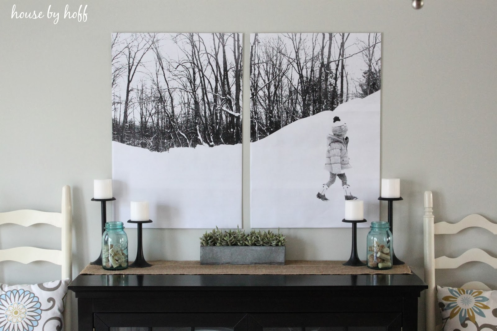 Split photo wall art house by hoff for Split wall