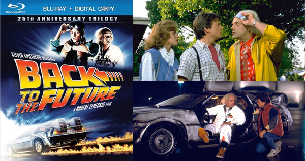 Back to the Future 25th anniversary edition on Blu-Ray
