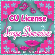 CU License Scrap Dimensions