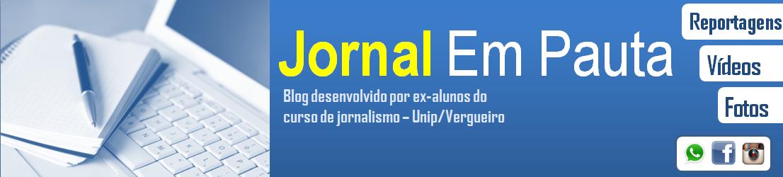 JORNAL EM PAUTA