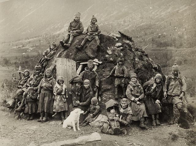 White Wolf : Rare, old photos of indigenous Sami people showcase ...