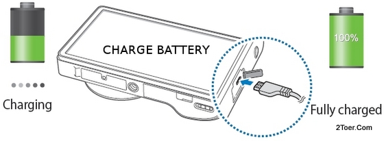 Charge Battery USB Cable Samsung Galaxy Camera EK GC100