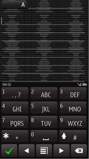 Tema Black Points symbian