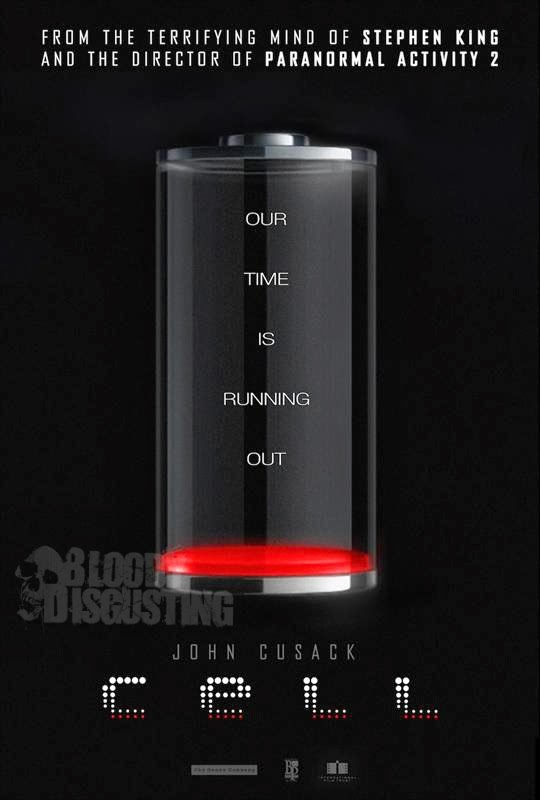 Póster de 'Cell', la nueva adaptación de Stephen King