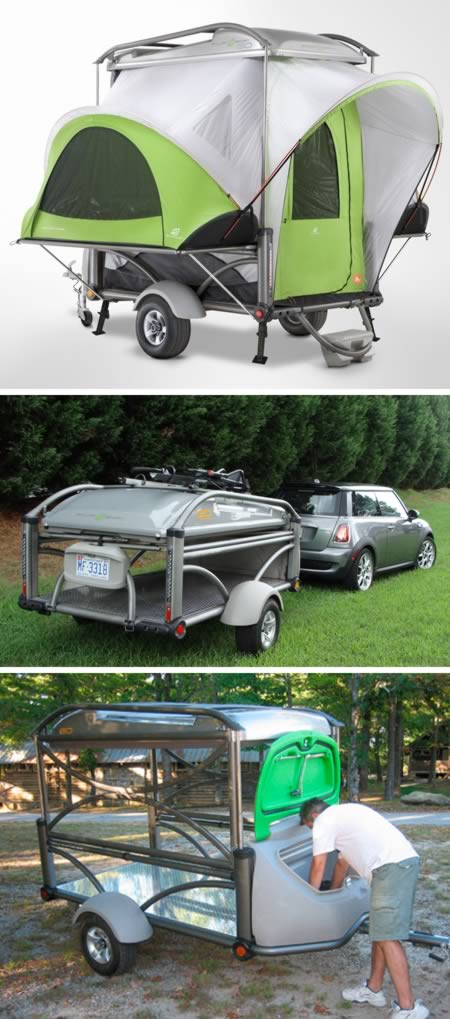 Awesome COOL OLD QuotTEAR DROPquot CAMPER TRAILER