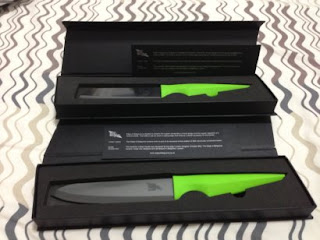 Edge of Belgravia knives in a box