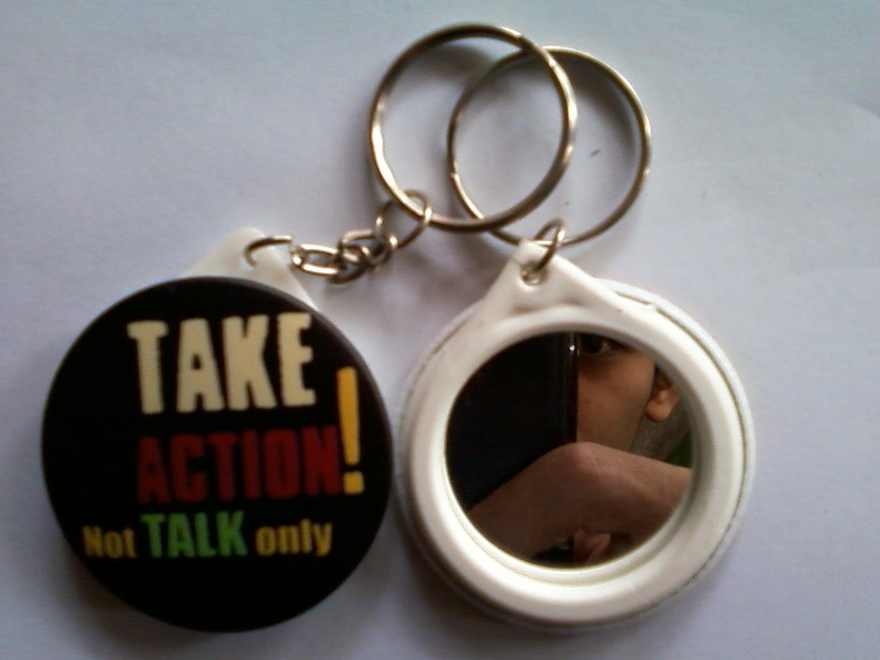 CETAK / SABLON CD DIGITAL: PIN dan Gantungan Kunci