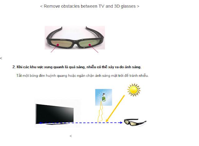 Tại sao tôi không thể xem hiệu ứng 3D trên tivi LG  12