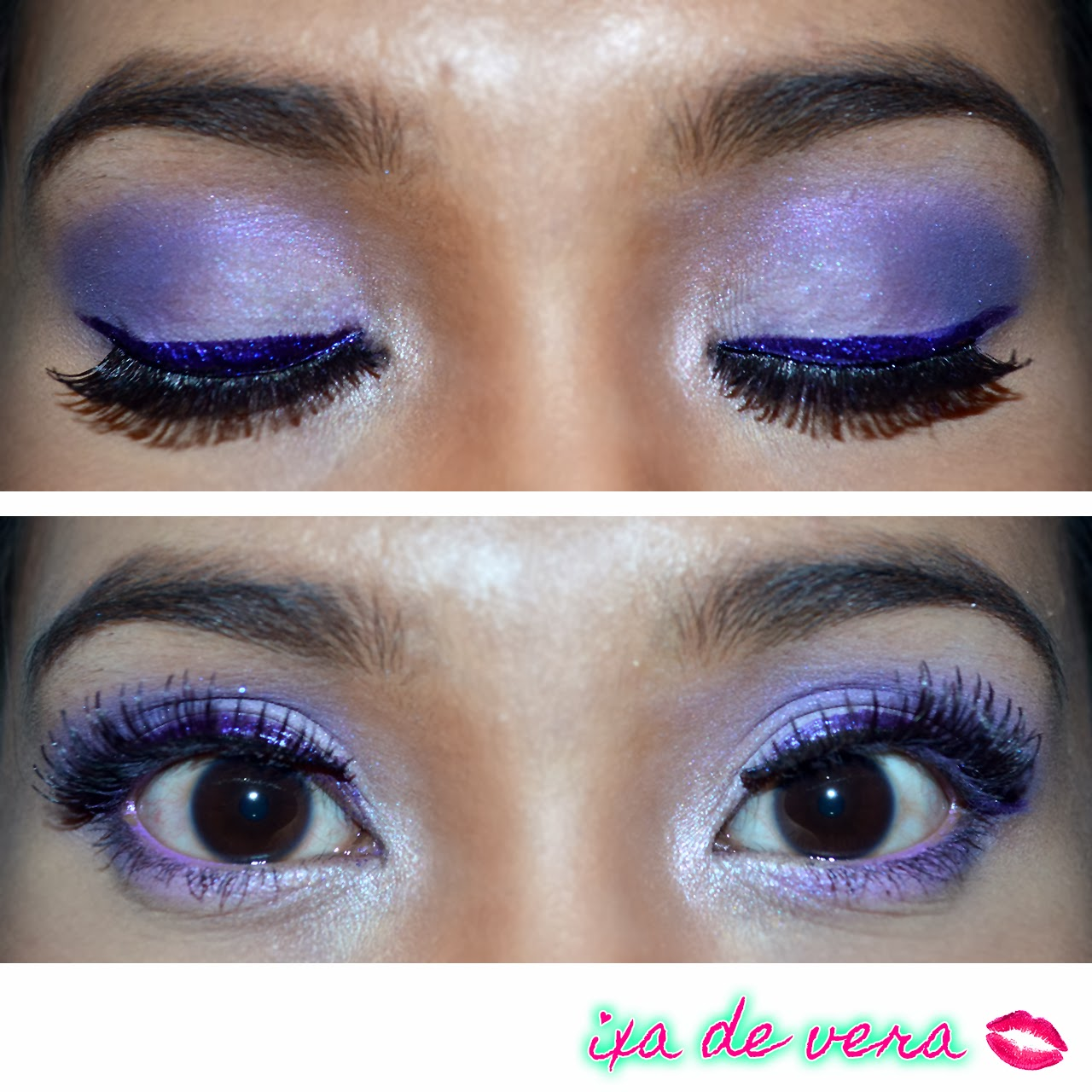 Makeup By Ixa Purple Glam For Prom Product List