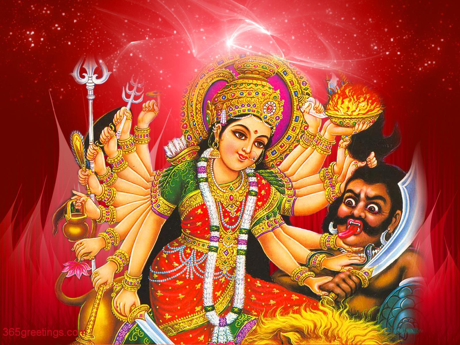 Durga Mata Wallpaper High Resolution Llll