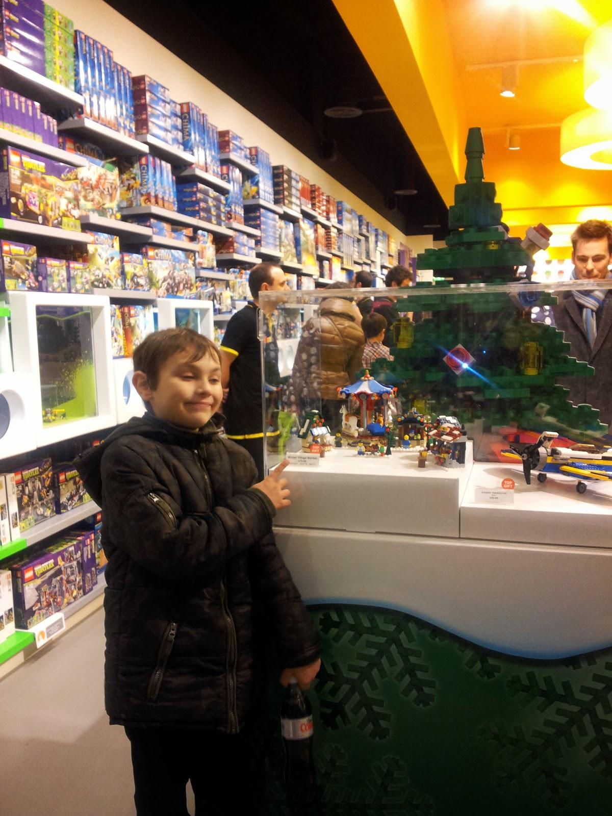Lego Store St Davids Cardiff Christmas