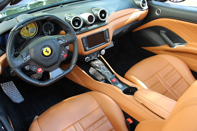 Ferrari California T Interior Design