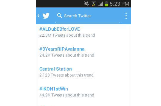#ALDubEBforLOVE garnered over 22 million tweets