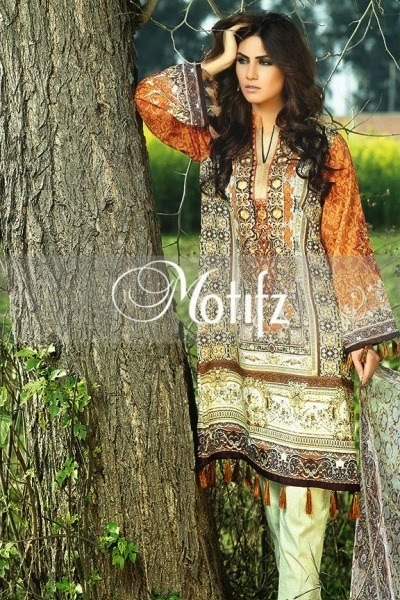 Motifz lawn prints 2015 collection