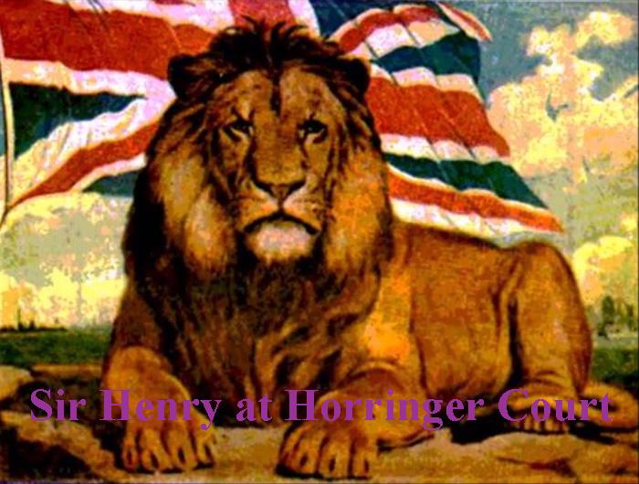 Sir Henry at Horringer Court