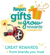 Pampers Gifts To Grow logo
