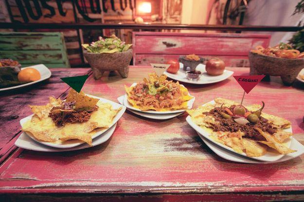Cocina mexicana en La Venganza de Malinche