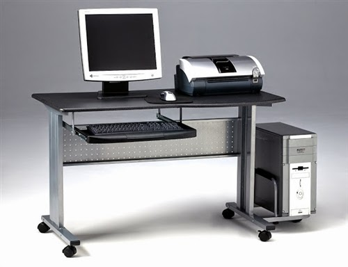 Mayline Eastwinds Mobile Computer Desk