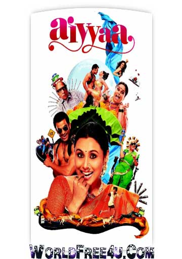 Poster Of Bollywood Movie Aiyyaa (2012) 300MB Compressed Small Size Pc Movie Free Download worldfree4u.com