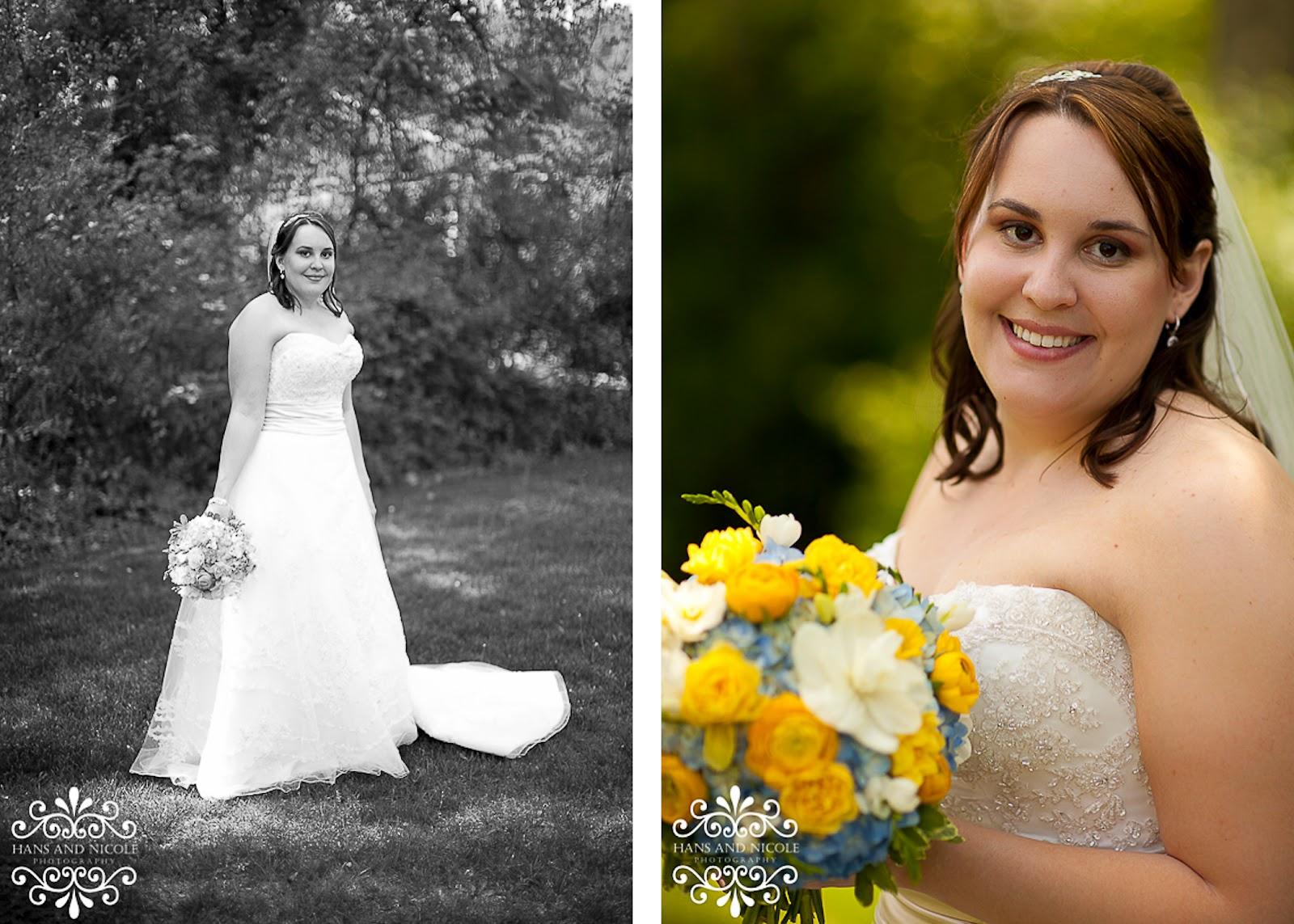 beautiful bridal portrait at frederick wedding