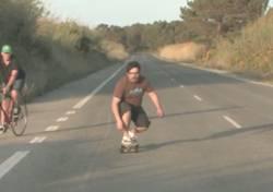 Gordinho + Skate + Alta Velocidade - Será que Vai dar Merda?