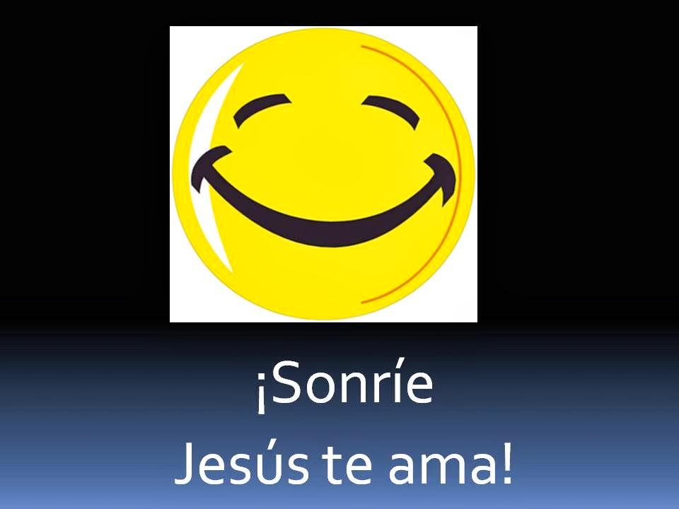 JESÚS NOS HACE SONREÍR